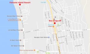 Fortune Island Resort Map