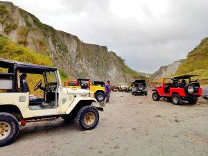 4x4 at Mount Pinatubo