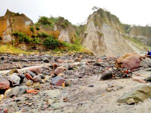 Mount Pinatubo Land Formations by Catching Carla