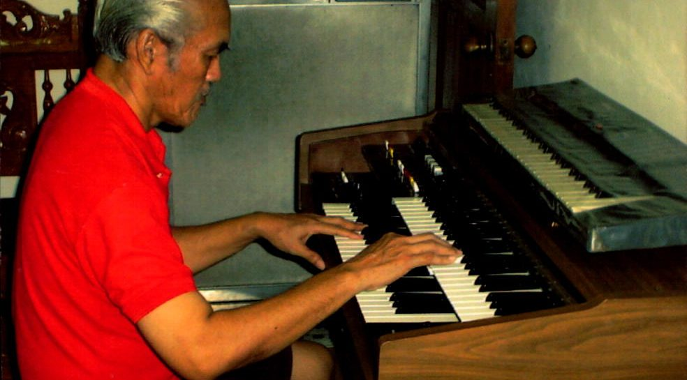 grandfather playing piano