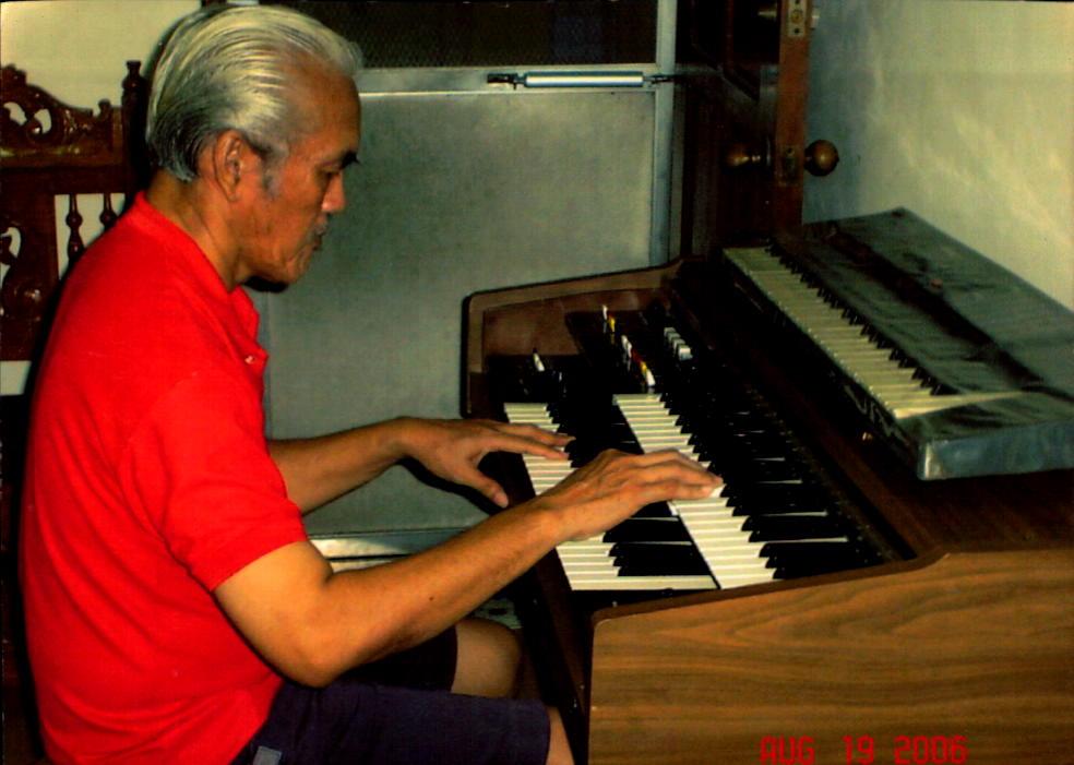 grandfather playing piano