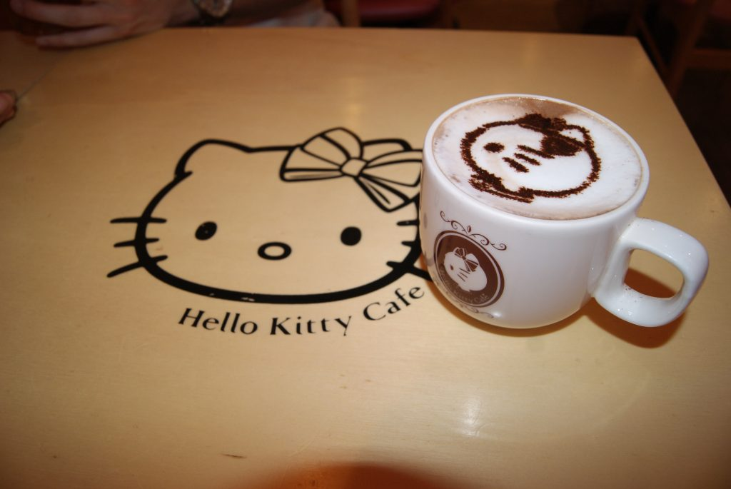 Hello Kitty Cafe: Seoul South Korea