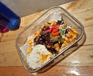 Loaded Carne Asada Fries - Gregory park | catchingcarla.com