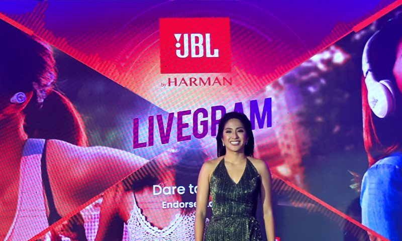 JBL Philippines new brand Ambassador Gretchen HO | catchingcarla.com